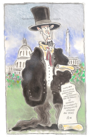 political cartoon by donald wilson